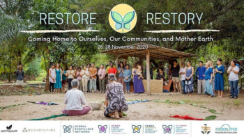 Restore & Re-story Ecovillage Online Gathering